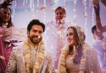 Varun Dhawan and Natasha Dalal are now officially man and wife