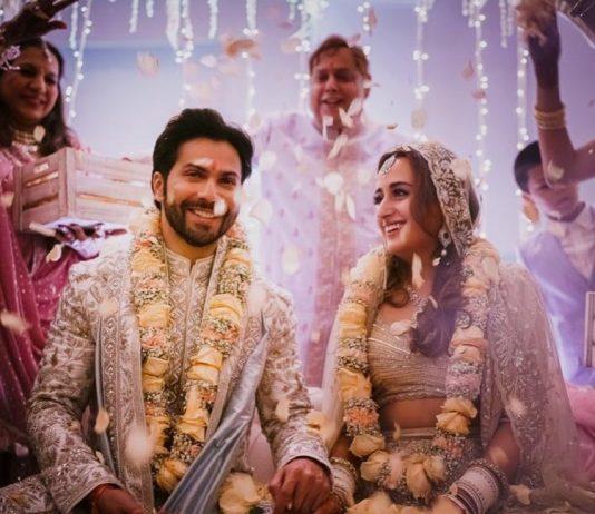 Varun Dhawan and Natasha Dalal are now officially man and wife