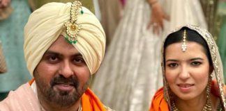 Harman Baweja and Sasha Ramchandani get married in a traditional wedding ceremony