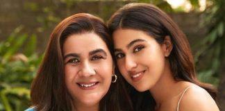 Sara Ali Khan and Amrita Singh to share screen space for brand endorsement