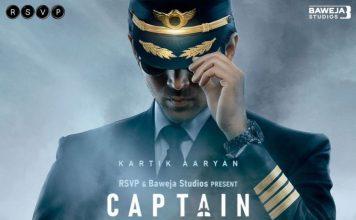 Kartik Aaryan starrer Captain India poster out