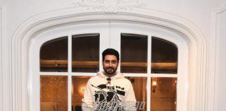 Abhishek Bachchan begins shoot for Hindi version of Oththa Seruppu Size 7