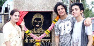 Jackie Shroff and Poonam Dhillon inaugurate street named after late Aadesh Shrivastava