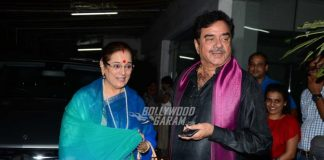 Shatrughan Sinha and  Poonam Sinha at Akira special screening