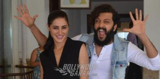 Riteish Deshmukh and Nargis Fakhri promote Banjo