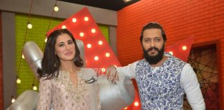 Riteish Deshmukh and Nargis Fakhri promote Banjo at The Voice India Kids