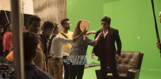 Shahrukh Khan shoots for Bollywood Parks