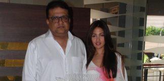 Riya Sen promotes Bengali movie Dark Chocolate