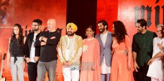 Harshwardhan Kapoor and Saiyami Kher launch Mirzya music