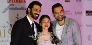 Abhay Deol and Lara Dutta glitter at Miss Diva Bash