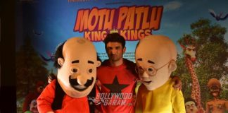Sushant Singh Rajput launches trailer of Motu Patlu: King of Kings