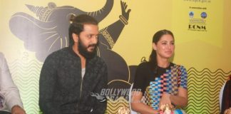 Riteish Deshmukh and Nargis Fakhri spread awareness during festive time