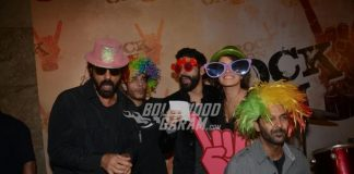 Farhan Akhtar , Arjun Rampal and Purab Kohli launch Rock On 2