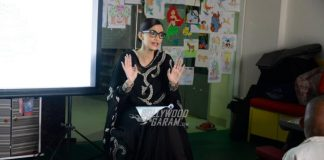 Sonam Kapoor spends time with NGO children